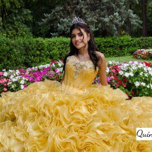 quinceañera vestido
