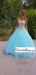 Vestido sweet sixteen