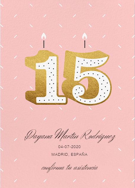 Los 15 Mejores Save The Date Para Tus Quince Años