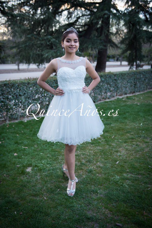 vestido 15 corto