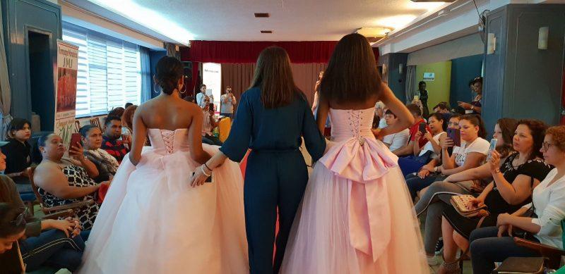 Desfile de quinceañera